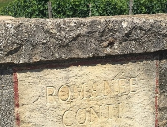In the route des Grands Crus in Burgundy, Clos de la Romanée-Conti